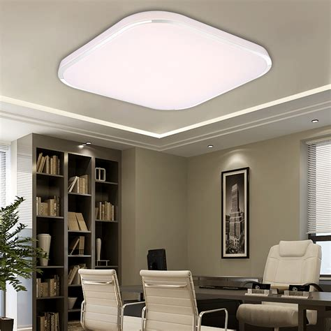 bright 36w square led ceiling light recessed wall