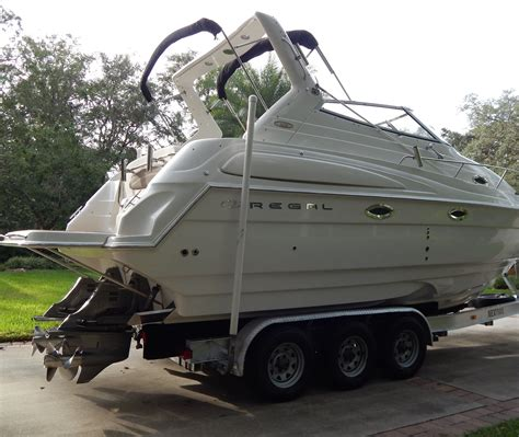 Power Boats For Sale In Florida by Used Regal Cruiser Power Boats For Sale In Florida