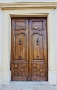 entree deux vantaux portes d39entree portes antiques With porte d entrée provencale