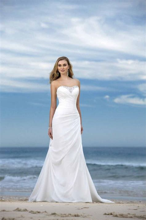 informal beach wedding dresses aelida