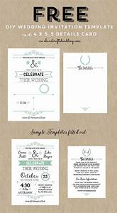 best 25 free invitation templates ideas on pinterest With wedding invitation templates 5x5