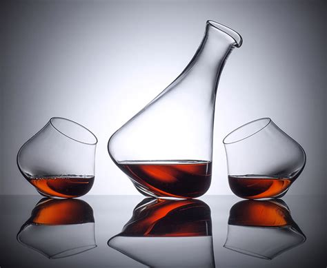 stunning modern wine decanters vinepair