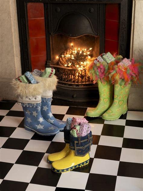 wellington boot christmas stockings