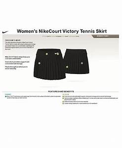 Nike Golf Skort Size Chart Nike Court Victory Dri Fit Pleated Tennis Skirt Shorts