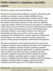 education objectives for resume top 8 compliance specialist resume samples