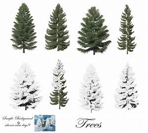 Pine Trees png stock by mysticmorning on DeviantArt