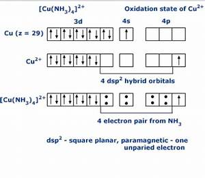 What Is The Hybridization Of  Math  Cu Nh 3  4   2     Math