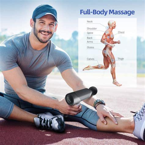 Sportneer Deep Tissue Percussion Muscle Massage Gun Review