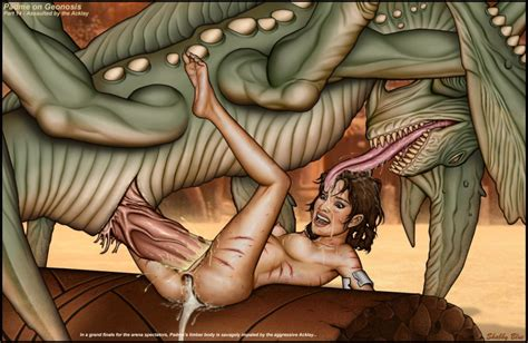 Rule 34 Acklay Alien Attack Of The Clones Blood Crying