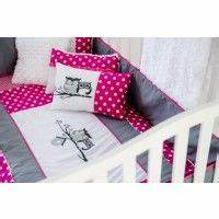 Ensemble De Literie Hibou Rose De Bb Carrousel