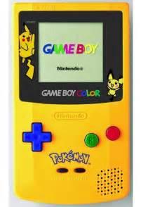 game boy color pokemon edition 1 game boy color yellow