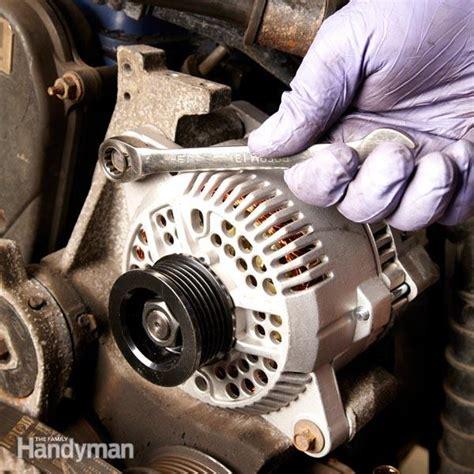replace  alternator  family handyman
