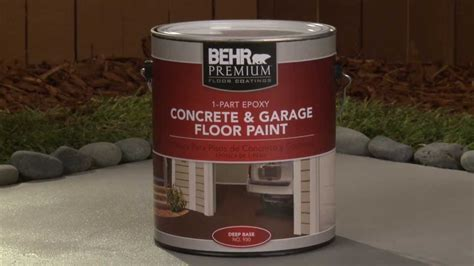 How To: Apply Behr Premium 1 Part Epoxy Concrete & Garage