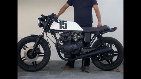 honda cb   cafe racer youtube