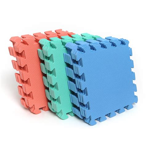 foam puzzle mat 9pcs eco soft foam tile interlocking floor play