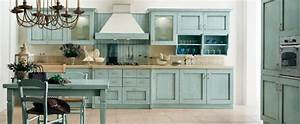 23 gorgeous blue kitchen cabinet ideas for Kitchen colors with white cabinets with where to find wall art
