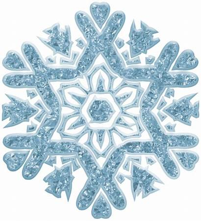 Snowflake Clip Decor Clipart Winter Transparent Yopriceville