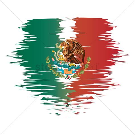 Mexico flag background Vector Image - 1582272 | StockUnlimited