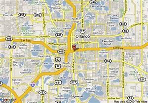 Map of The Inn At Lake Lucerne, Orlando