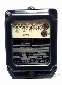 Denis Ferranti Tm3 Electricity Meter