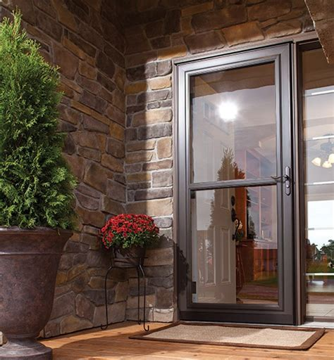 benefits  storm doors american thermal window