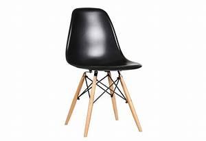 Chaise Scandinave Noir : chaise scandinave en polypropyl ne noir by auxportesdeladeco aixi 1 ~ Teatrodelosmanantiales.com Idées de Décoration