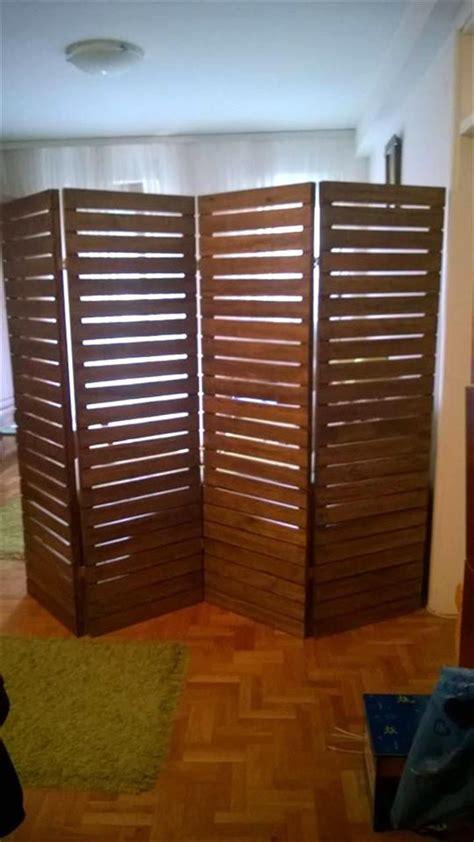 upcycled pallet room divider pallet furniture room divider doorsroom divider wallswooden
