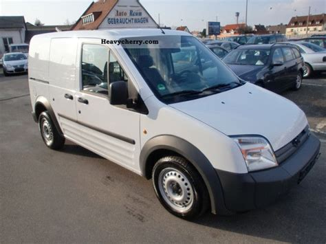 Ford Connect Trtansit 2008 Box-type Delivery Van Photo And