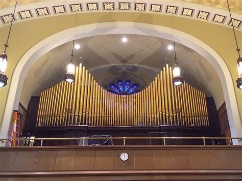 Praise Be Sackvilles Silenced Pipe Organ Makes 'a Joyful