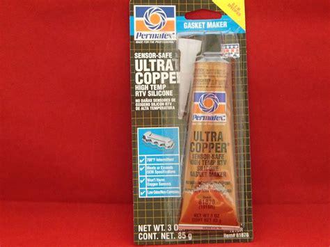Permatex® Ultra Copper 3oz Maximum Temperature Rtv