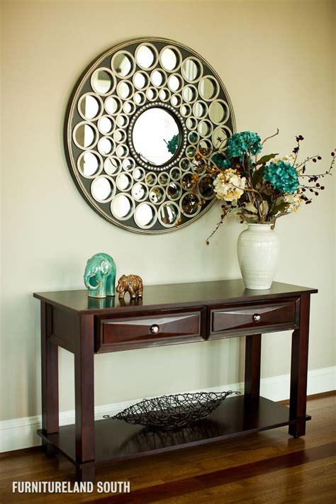 Accent Mirrors Entryway - delightful foyer tables and mirrors image decor in entry
