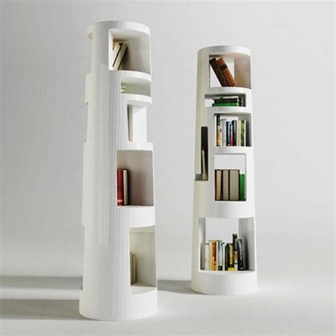 innovative bookshelves 15 outstanding standing bookshelves for your living room rilane