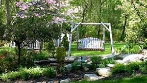 Gartenschaukeln Arten Materialien Und Tipps Zu Pflege