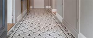 Parquet Imitation Carreaux De Ciment : sol imitation carreaux de ciment ~ Farleysfitness.com Idées de Décoration