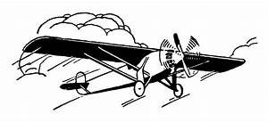 Vintage Airplane Clip Art - Free Clip Art