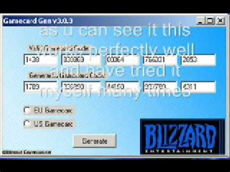 game card codes world  warcraft youtube