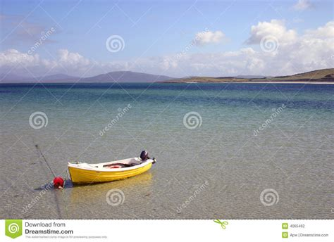 Small Yellow Boat by Yellow Boat By The Stock Photography Image 4065462