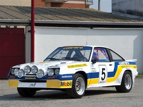 Opel Rallye by Opel Manta 400 Rally Picture 90993 Opel Photo Gallery