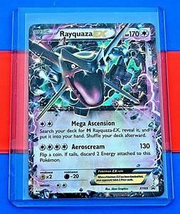 Pokemon SHINY RAYQUAZA EX XY69 - XY PROMO EX CARD- Ultra ...