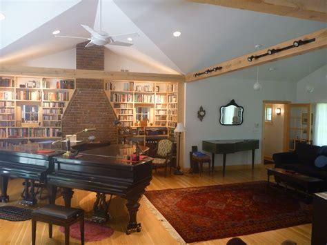 Music room & Library additions   Omnibus Designs