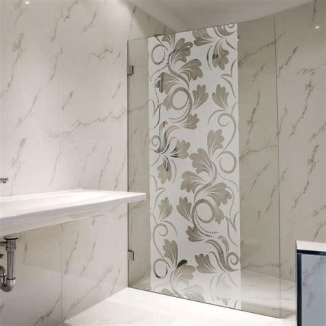 adh 233 sif pour paroi de fleur baroque salle de bain glass design