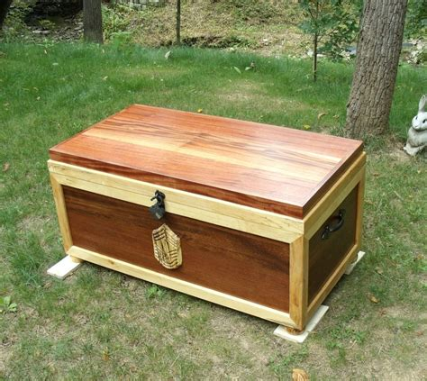 Handmade Sea Chest - Military Retirement Gift by