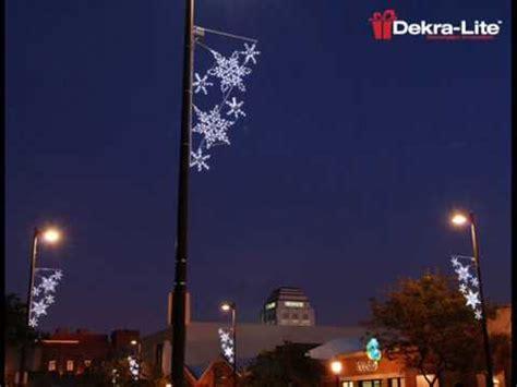 light pole decorations dekra lite commercial outdoor