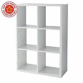 Etagere 6 Cases : tag re modulable 6 cases coloris blanc mixxit castorama ~ Teatrodelosmanantiales.com Idées de Décoration