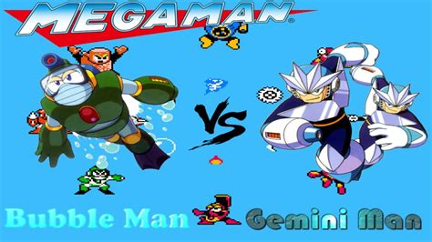 Mega Man Day In The Limelight 2 Gemini Man Stage Youtube
