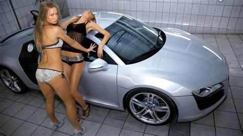 Hot Cars Wallpapers With Girls
