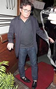 Michael J  Fox Looks Downcast After Saying He  U0026 39 Should Be Disabled U0026 39