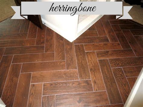 herringbone wood tile hometalk herringbone tile flooring