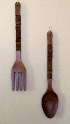 Black Wooden Spoon And Fork Wall Decor by 1000 Images About Dining Room Ideas On Forks