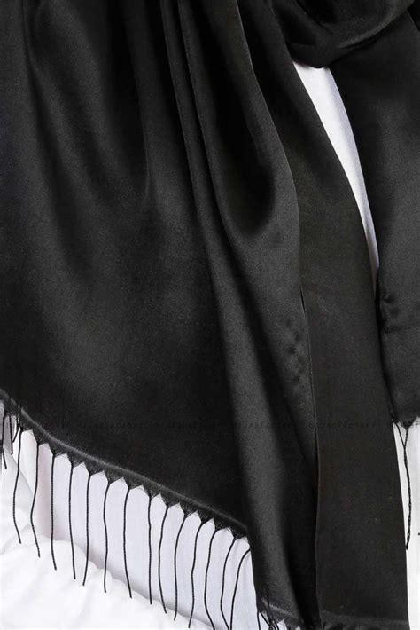 verda zwarte satijnen hijab madame polo